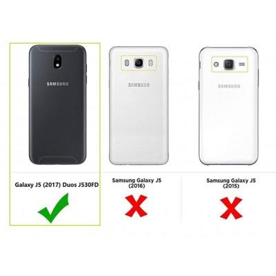 AURSTORE Coque pour Samsung Galaxy J5 Pro 2017(J530) – Protection intégrale Avant arrière en Rigide